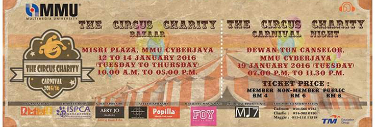 The Circus Charity Carnival 2015/16