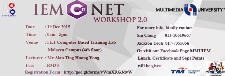 C# NET Workshop 2.0